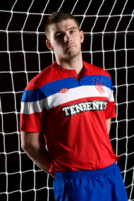 New Rangers Away Strip 11-12