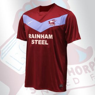 New Scunthorpe United Home Kit 11-12