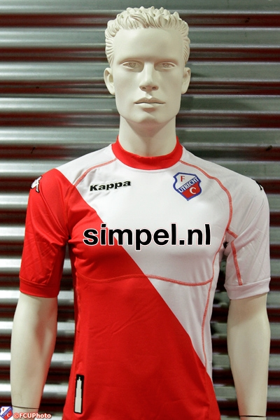 New Utrecht Home Shirt 2011-2012