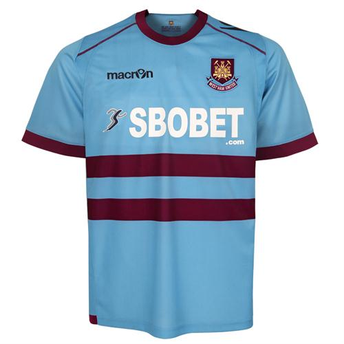 New West Ham Away Kit 11-12