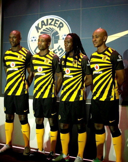 Nike Kaizer Chiefs Kit 2011-12