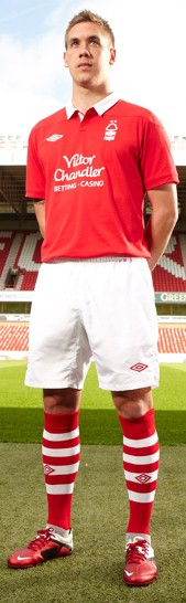 Nottingham Forest Home Kit 2011-2012