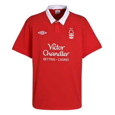 Nottingham Forest Jersey 11-12