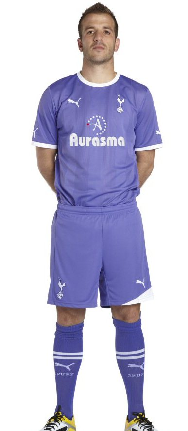 Rafael van der Vaart Spurs away shirt
