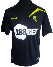 Black Bolton New Away Kit 11-12