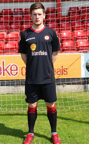 Black Crewe Alexandra Away Kit 2011