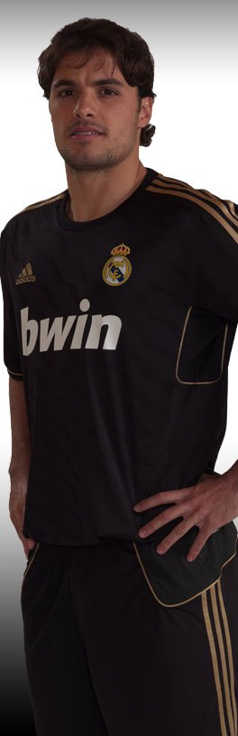 Black Real Madrid Kit 11-12 Away