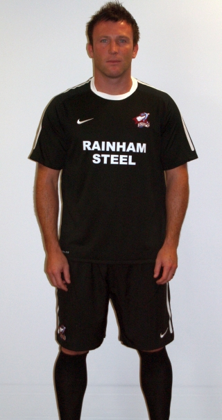 Black Scunthorpe Away Kit 11-12