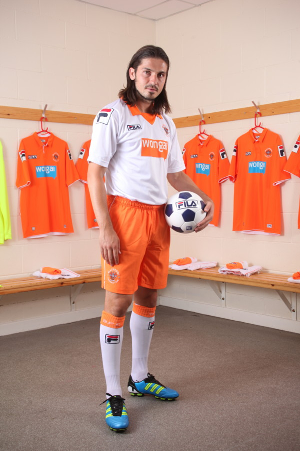 Blackpool Away Kit 2012 FILA