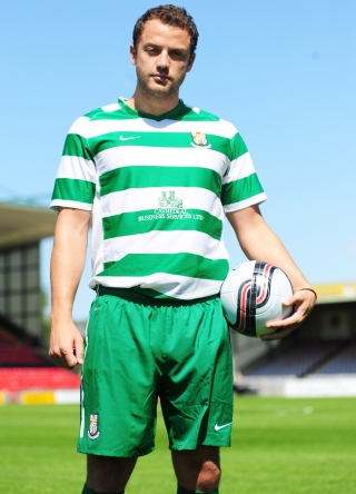Green Lincoln City Away Kit 2011-12