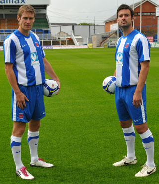 Hartlepool United Shirt 2011-12 Nike