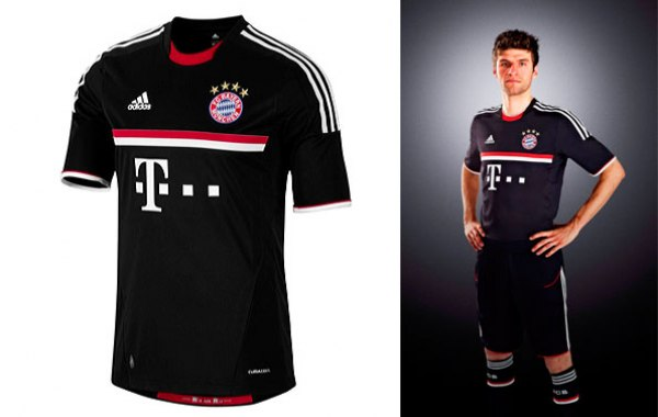 New Bayern Munich Jersey 11-12