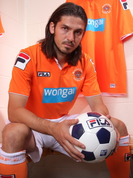 New Blackpool FILA Shirt 2012