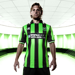 New Brighton & Hove Albion Kit 11-12 Away