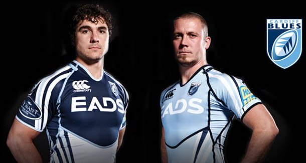 New Cardiff Blues Kit 2011-2012