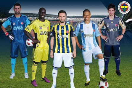 New Fenerbahce Kit 11-12 Home Away Third