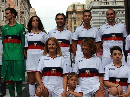 New Genoa Away Shirt 2011-2012