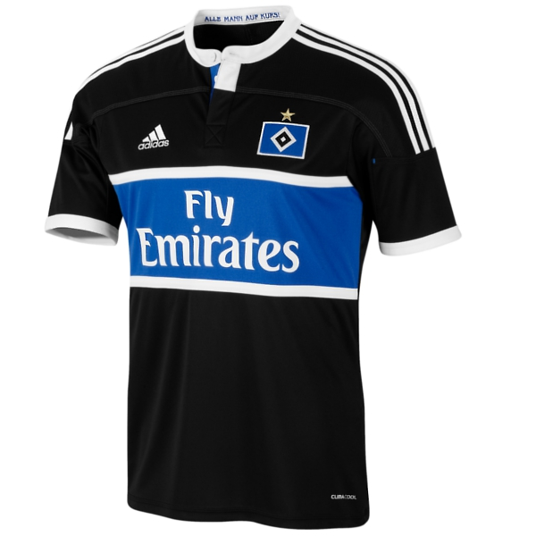 New Black Hamburg Away Kit 11-12