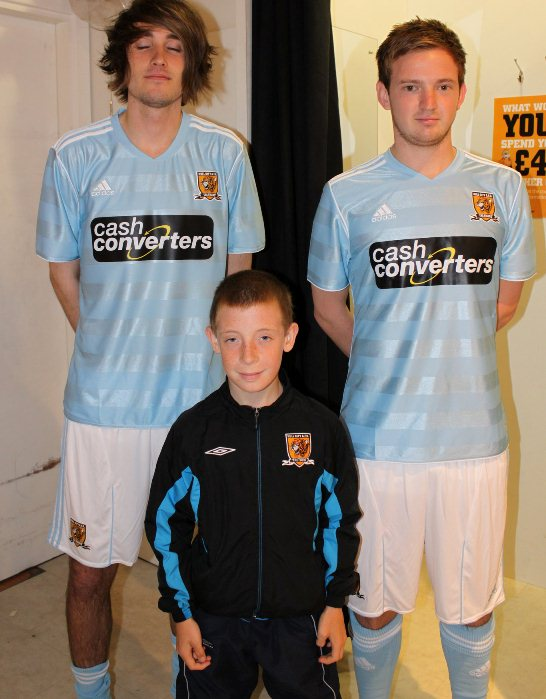 New Hull City Away Kit 11-12