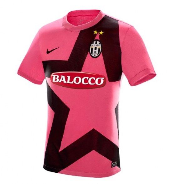 new juventus kit 11 12 away pink star nike football kit news new juventus kit 11 12 away pink star