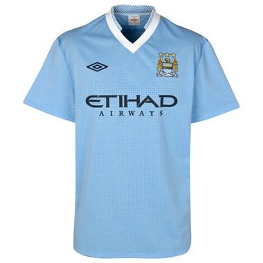 New Man City Home Shirt 2012