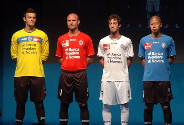 New Novara Kits 11-12 Serie A