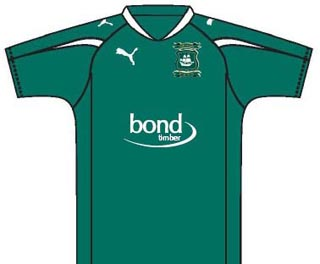 New Plymouth Argyle Kit 11-12 WH Bond