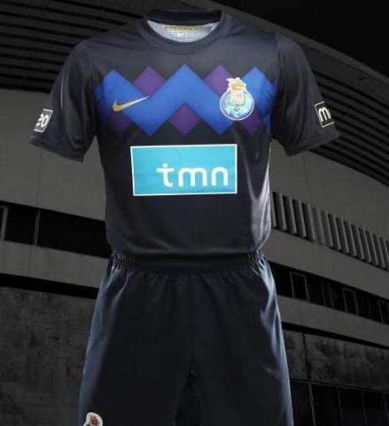 New Porto Away Jersey 2011-2012
