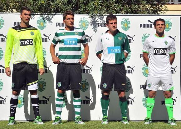 New Sporting Lisbon Kit 2011-2012
