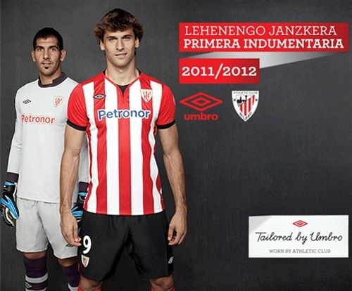 New Umbro Athletic Bilbao Shirt 2011