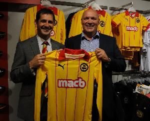 Partick Thistle Home Kit 2011-2012