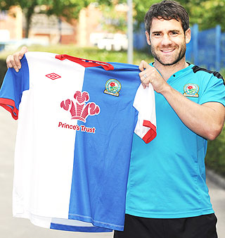 Prince's Trust Blackburn Rovers kit