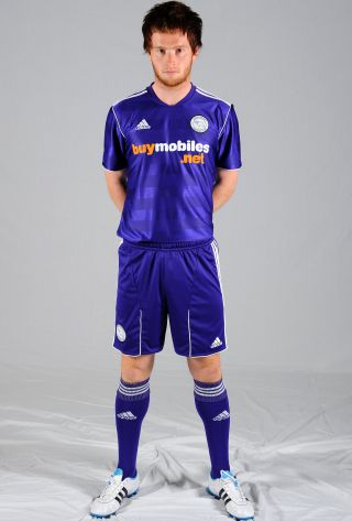 Purple Derby County Away Kit 11-12