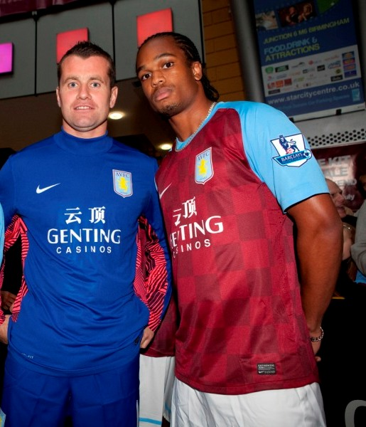Shay Given Aston Villa Goalkeeper Shirt 2011 2012