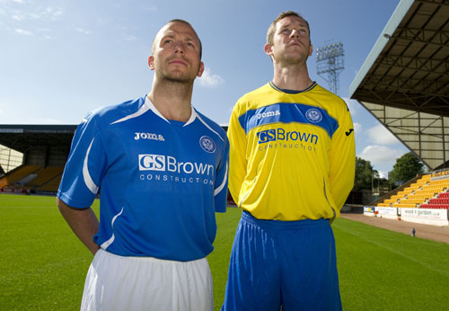 St.Johnstone Strip 11-12 Home and Away