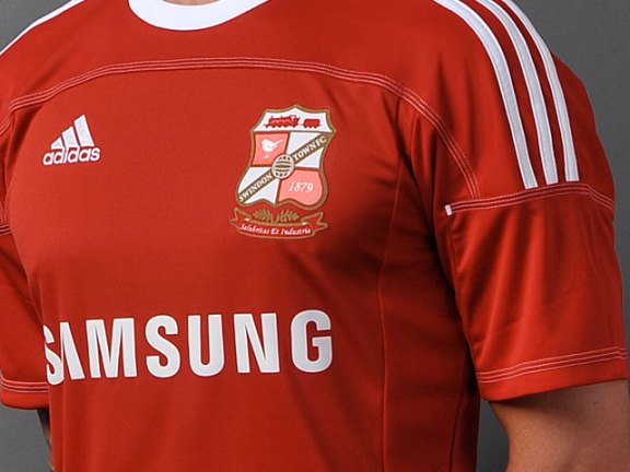 Swindon Town Home Shirt 2011
