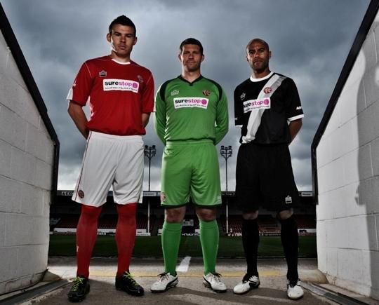 New Walsall FC Kits 2011-2012