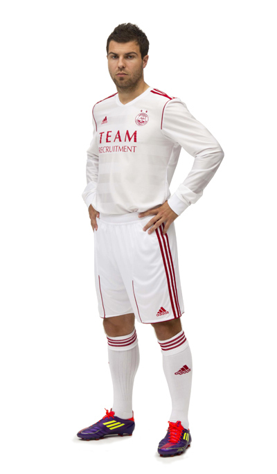 White Aberdeen Kit Adidas