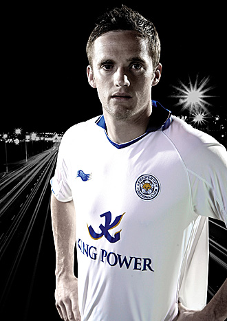 White Leicester Away Kit 2011-2012