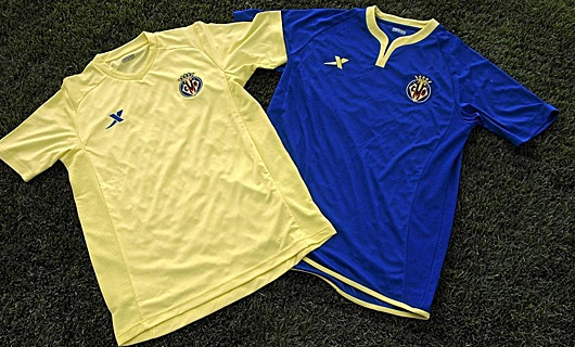 Xtep Villarreal Jersey 2011- Home Away
