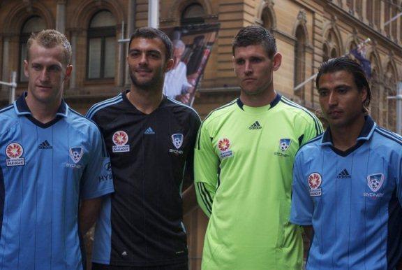 Adidas Sydney FC Jersey 2011