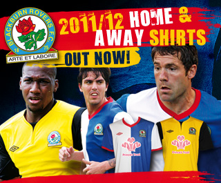 Blackburn Away Kit 11-12