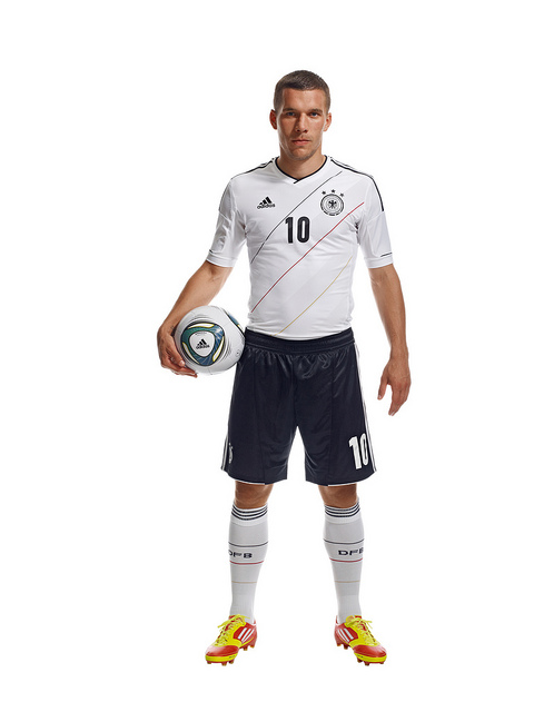 Lukas Podolski Germany Euro 2012 Shirt