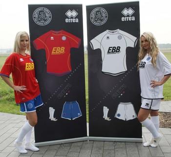 New Aldershot Town Kits 11-12 EBB Errea