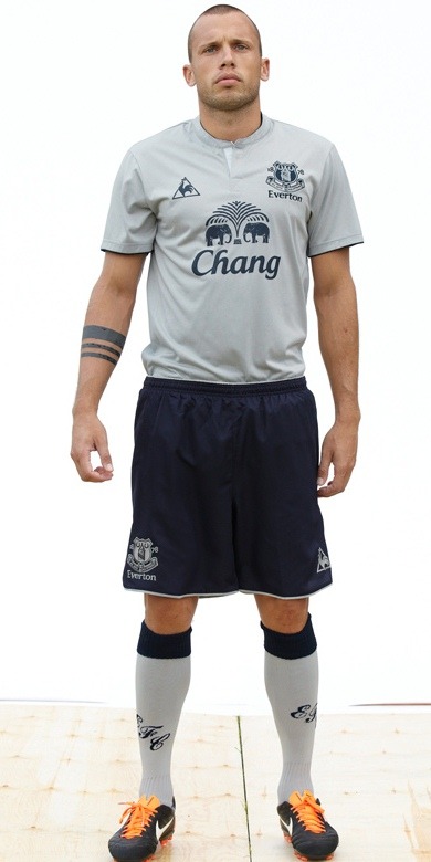 New Everton Third Kit 11-12