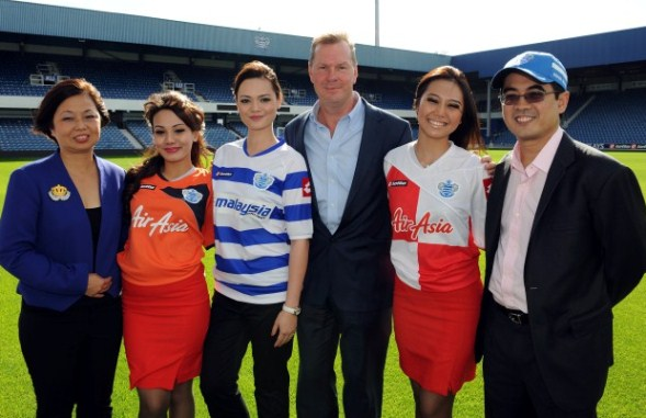 QPR Malaysia Airlines Jersey