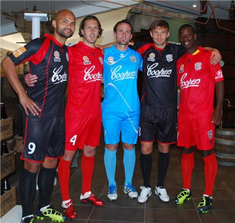 New Adelaide United Kit 2012