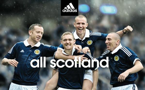 Adidas New Scotland Strip 2011 2012