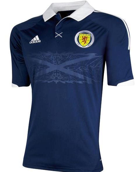 New Scotland Top 2012 Adidas