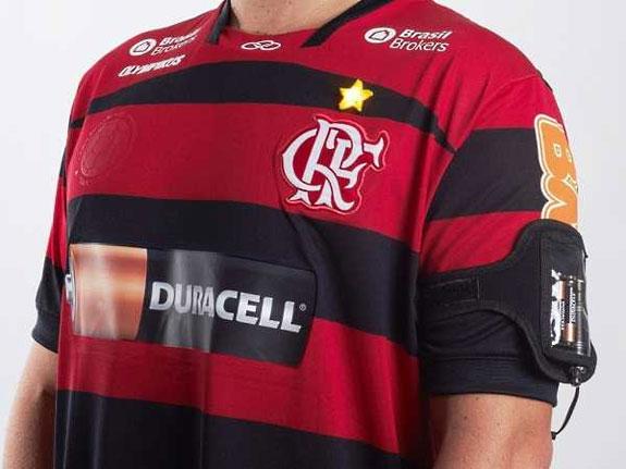 Flamengo Duracell Jersey